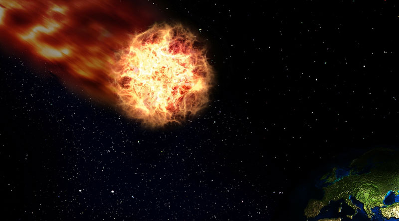 Comet, Set To Strike The Earth